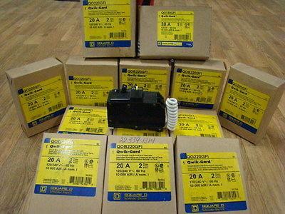SQUARE DEAL QWIK-GARD 20 AMP BREAKER NEW IN BOX