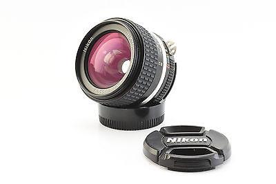 Nikon Nikkor Ai-s 28mm f/2.8 Wide Angle Lens w/ Nikon Caps MINT! (V4153)