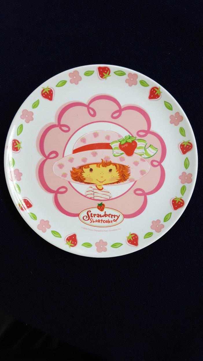 Strawberry Shortcake Plate Zak Designs Vintage 2003