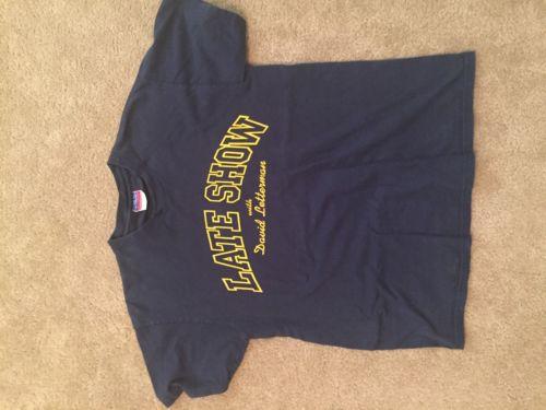 David Letterman Shirt Rare Vintage