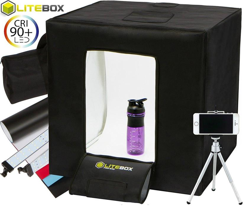 LITEBOX Product Photography Kit Light Box System for Professional Product Images