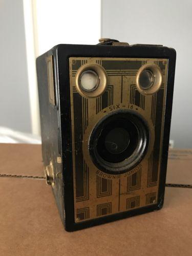 Kodak Brownie Junior Six 16 Six-16 Vintage 1930s Camera