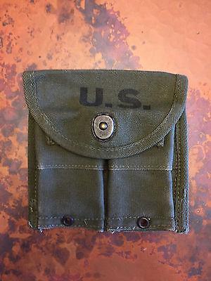 USGI M1 Carbine Belt Pouch; Redwine & Strain, 1945