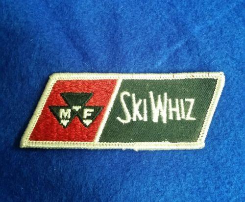 MF Massey-Ferguson Ski Whiz Patch