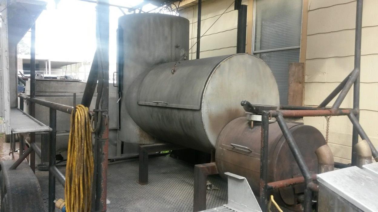 barbeque trailer