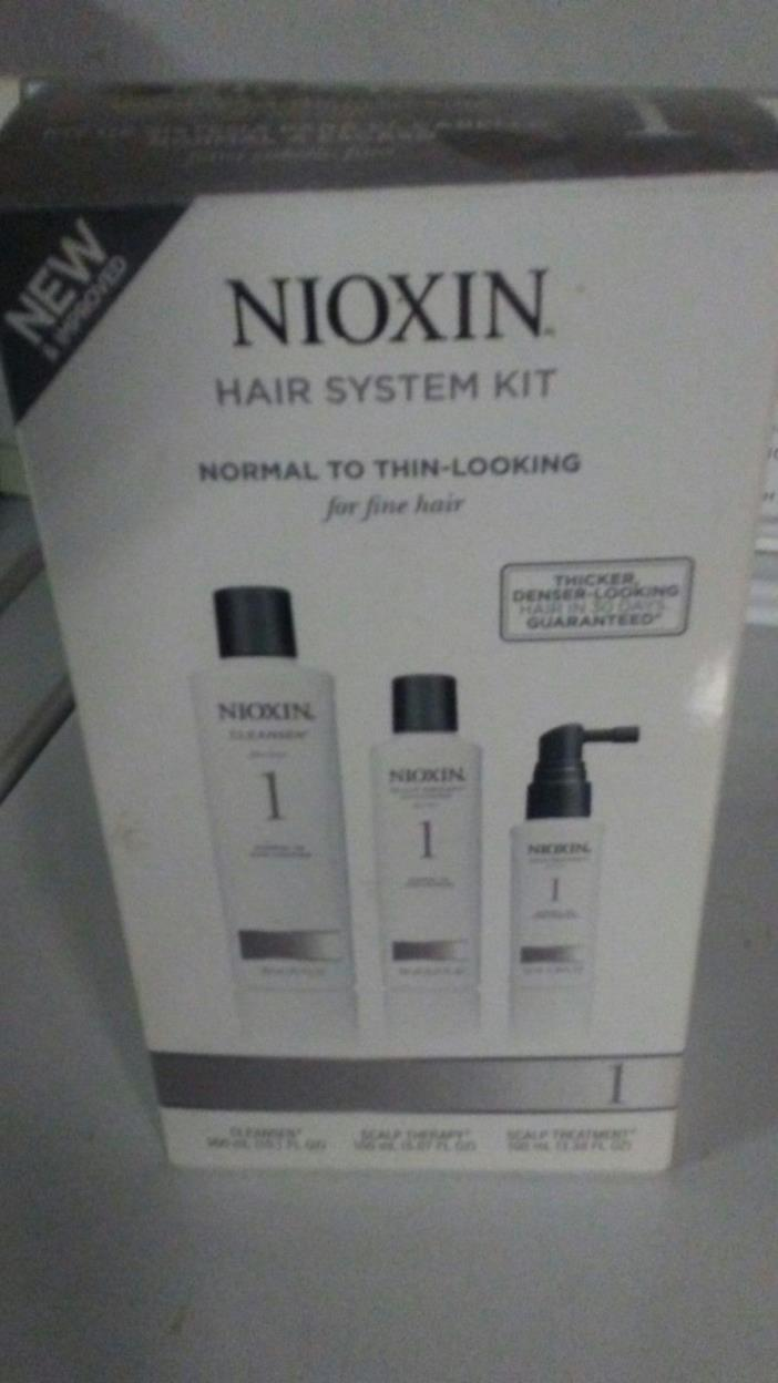 Nioxin 3 Piece System 4 Noticeably Thinning for Fine Hair Kit ** FREE SHIPPING