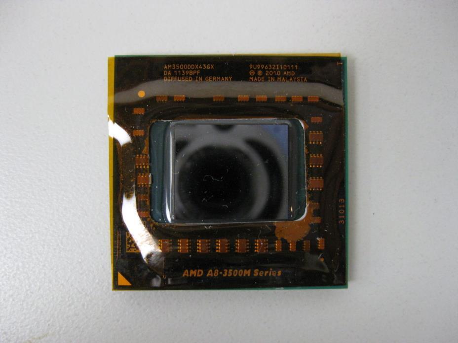 AMD A8-3500M 1.5GHz Quad-Core AM3500DDX43GX Laptop Processor Socket FS1