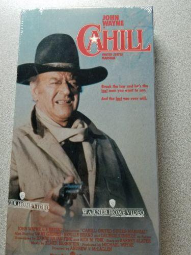 JOHN WAYNE VINTAGE VHS TAPES VIDEO MOVIE CAHILL UNITED STATES MARSHAL