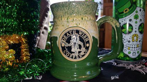 Death wish coffee mug