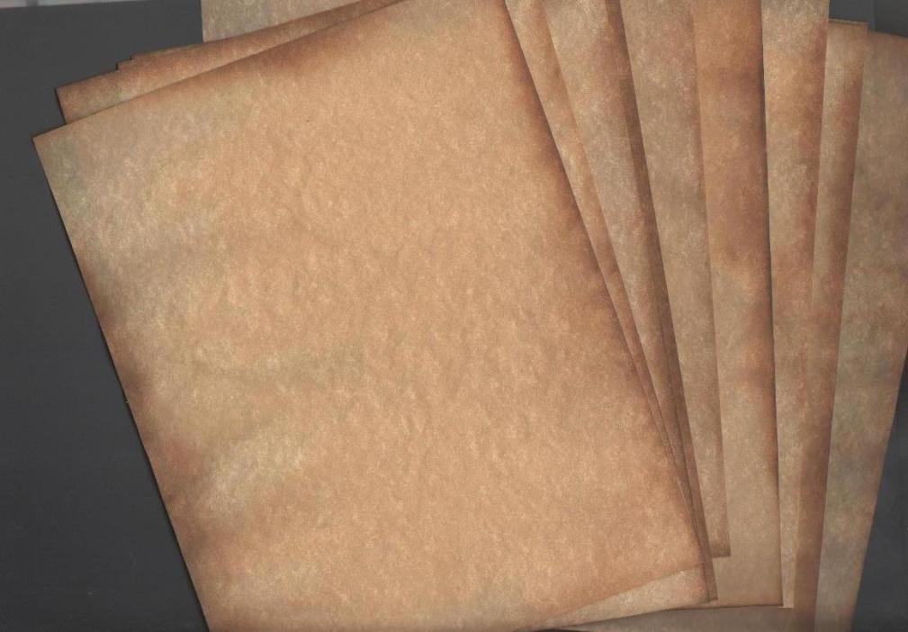 Parchment 7 x 10