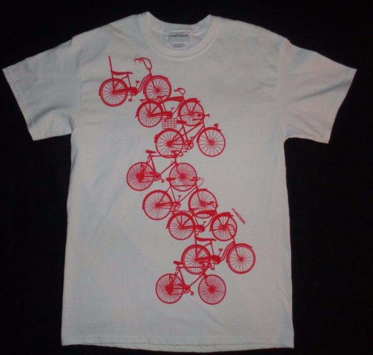 Marushka Michigan Rag Bicycle tshirt Size M String Ray Bike Ten Speed Schwinn