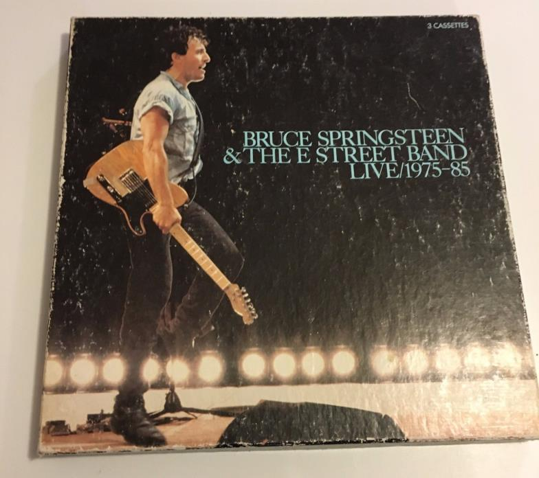 Bruce Springsteen and the E Street Band Live 1975-85/3 Cassette Collection
