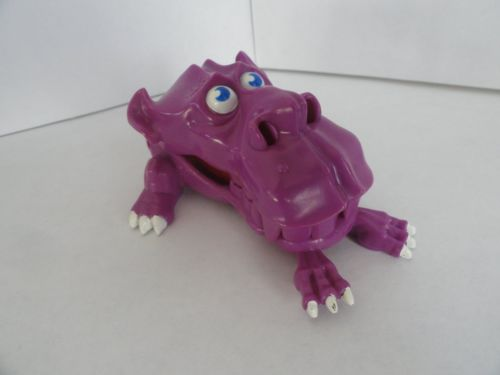 The Real Ghostbusters  1987 Purple Ghost Trap Works NEW PRICE