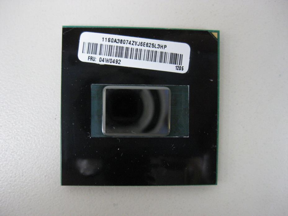 Intel Core i5-2520M 2.50GHz 3M Socket G2 04W0492 SR048 Laptop CPU