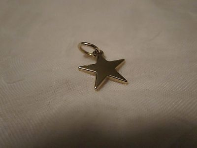 14K Gold James Avery Star Charm