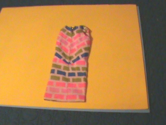PRINT APLERTY DRESS 1968