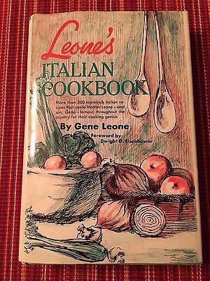 Leone's Italian Cookbook by Gene Leone, Recipes fr the famous NYC restaurant BCE