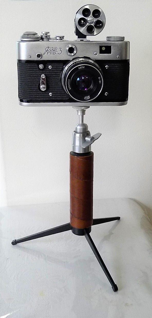 ? RARE Fed 3 Russian Rangefinder Film Camera Lenin Commemorative Historic Soviet