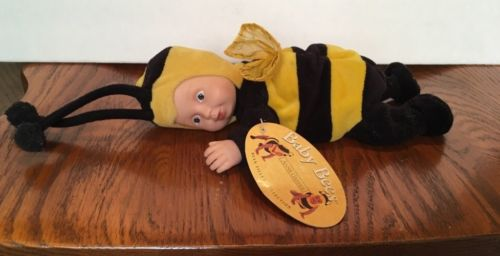 Anne Geddes Baby Bumble Bee plush Doll Toy