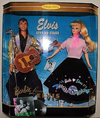 BARBIE LOVES ELVIS GIFT SET *NRFB*