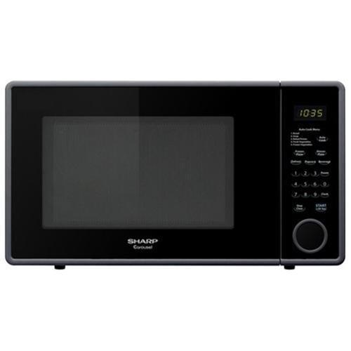 New, Sharp R-309YK 1.1 Cu Ft. 1000 Watts Microwave Oven, Black, Open Box New