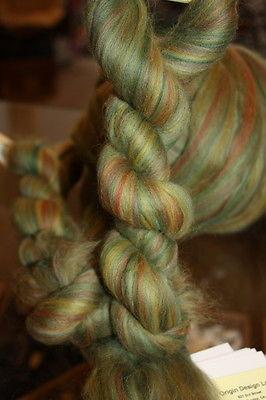 Merino Wool Top Roving Sage 1 Pound