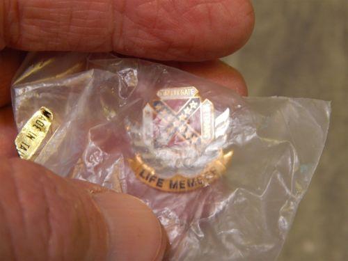 Sons of Confederate Veterans Life Member Pin (b)