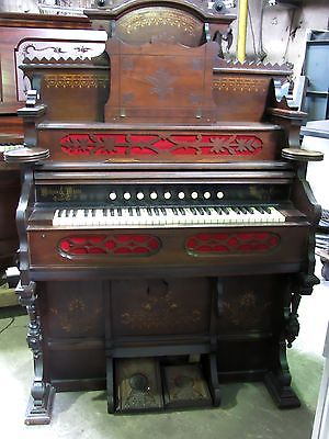 Wilcox & White Eastlake Antique Pump Organ