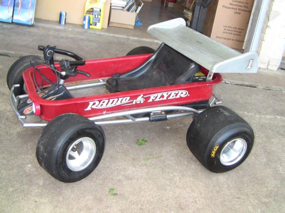 Custom Made Radio Flyer Electric  Go Kart Cart