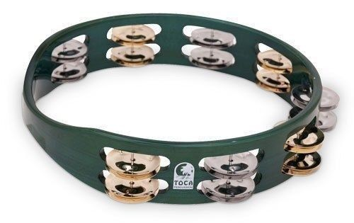 NEW - Toca ColorSound Tambourine - GREEN, TCT10-GN