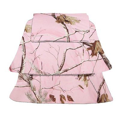 Realtree Sheets AP Pink Sheet Set, Queen