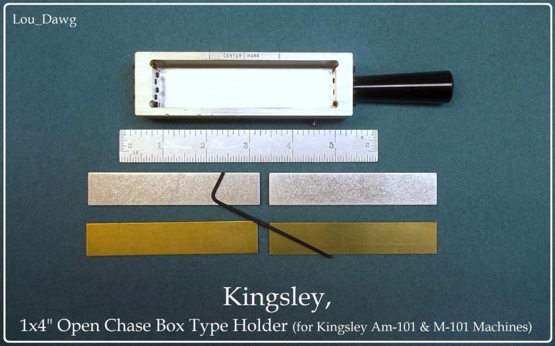 Kingsley Machine ( 1x4
