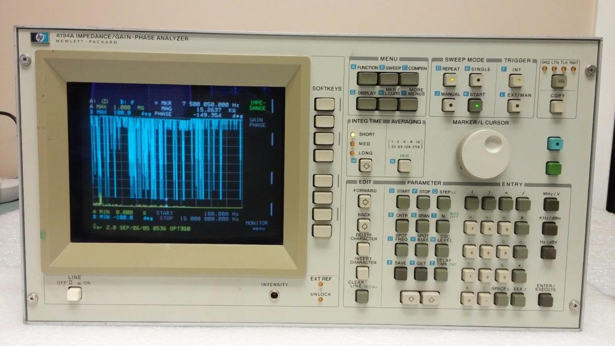 HP 4194A Impedance/Gain-Phase Analyzer