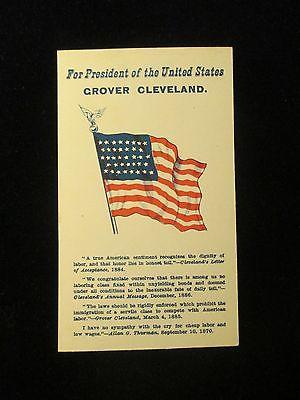 1888 PRO-CLEVELAND CAMPAIGN CARD