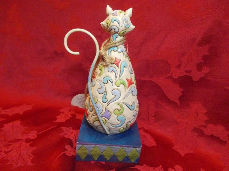 JIM SHORE HEARTWOOD CREEK WINDSOR KITTY CAT 4025833