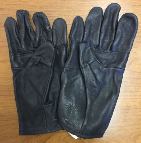 U.S. Military Size 5 Light Duty Leather Gloves Men's Womens Nationwide Glove Co