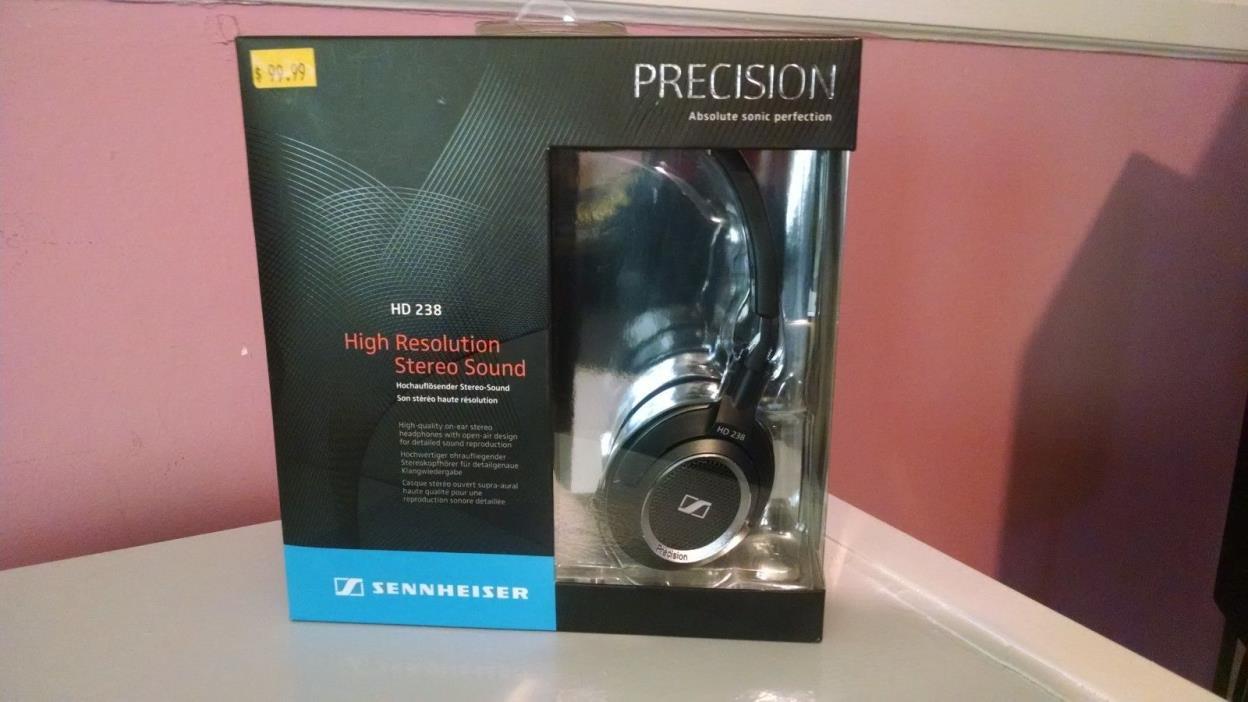 New Sennheiser HD 238 Over-Ear Precision Headphones