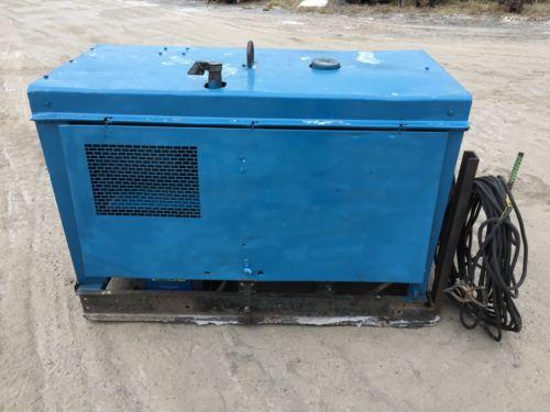 Miller Big Blue Welder Duetz Diesel Powered Generator/Welder With 100ft Leads
