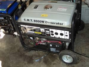 8000 watt Gas Generator (can deliver)