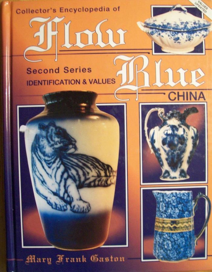 Flow Blue China Price Value Guide Book WINTER SALE