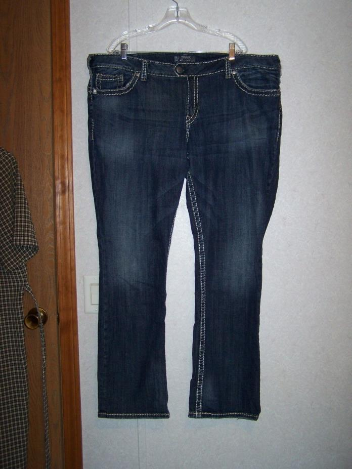 SILVER JEANS STYLE TUESDAY 16 1/2  - SIZE 24/LENGTH 33