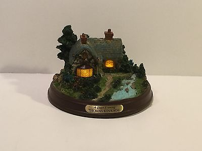 NEW Thomas Kinkade Memories of Home Lighted Cottage Collection A Quiet Evening