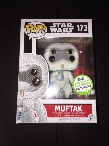 Muftak ECCC Exclusive Funko Pop Star Wars VHTF **IN-HAND/READY TO SHIP**