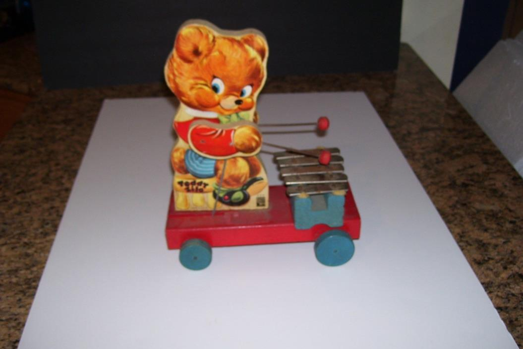 Vintage  Fisher Price PULL TOY-