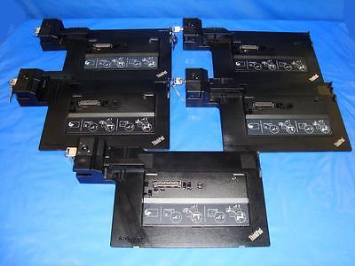 LENOVO ThinkPad Mini Dock Series 3 Type 4337 5-PACK *Key but no Power Adapter*