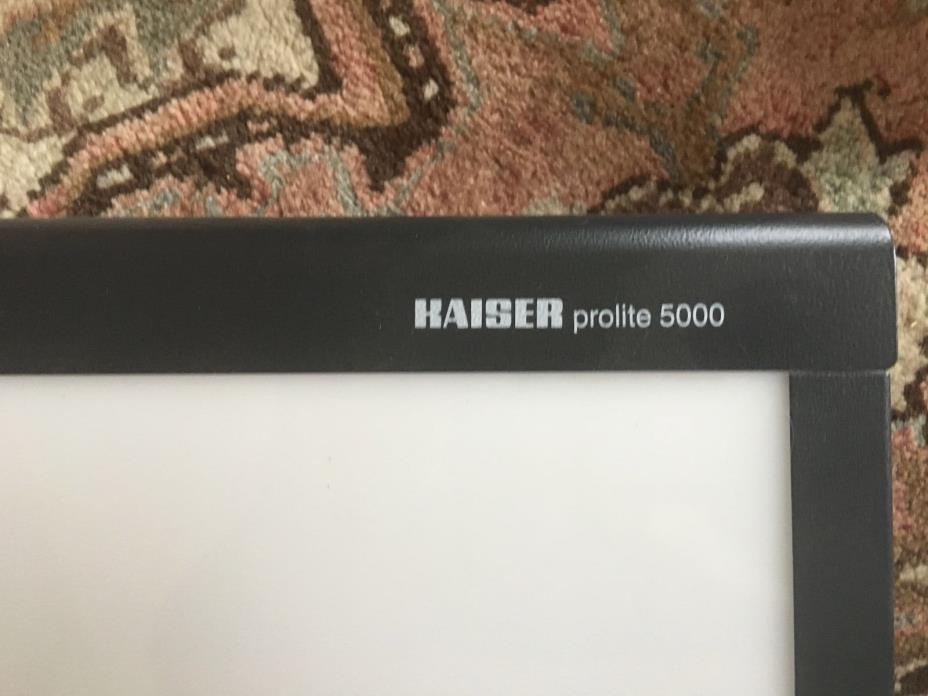 Kaiser Prolite 5000 Professional Light Box  14