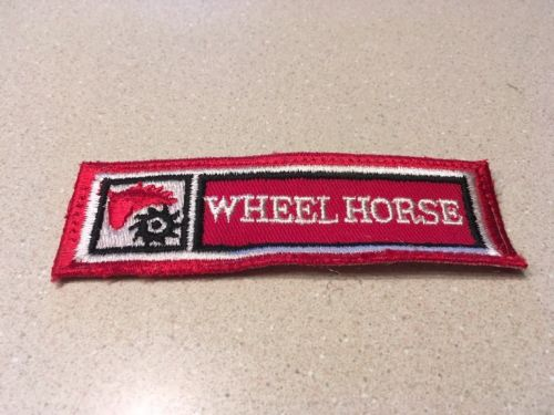 Vintage Wheel Horse Tractor Patch