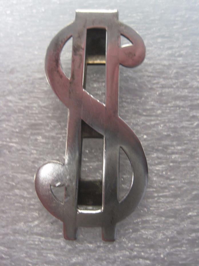 $ STERLING SILVER $ MONEY CLIP $