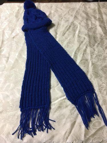 Handmade Crochet Hat/Scarf Age 1-^