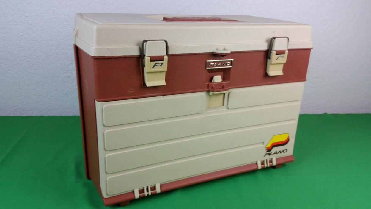Vintage Plano 757 4 Drawer Tackle Box